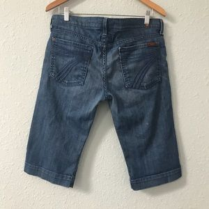 7 for All Mankind Dojo Bermuda shorts size 32